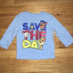 Long sleeved Paw Patrol t-shirt, 2T